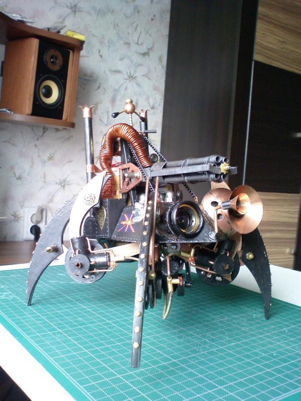 Имперский автономный ударно-разведывательный паровой дрон (Фото 12)