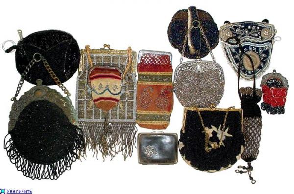 Дамские сумочки в Викторианскую эпоху (Фото 25)