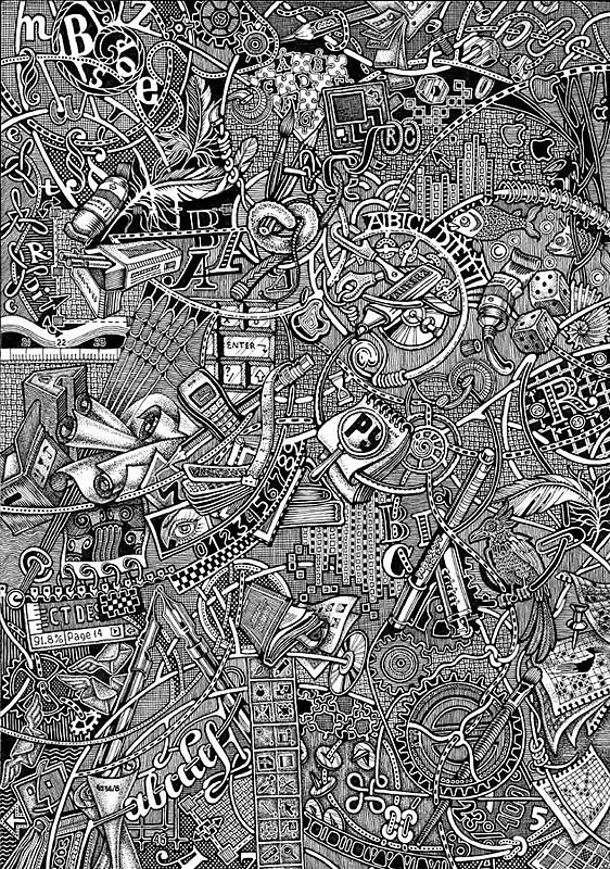 Иллюстраторы студии Артемия Лебедева (Фото 11)