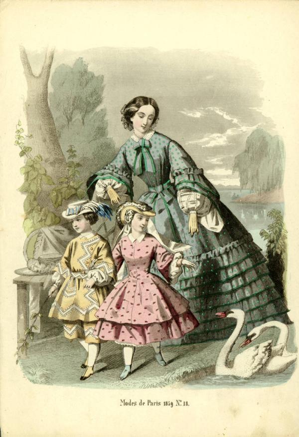Переменчивая мода Викторианской эпохи (Фото 22)