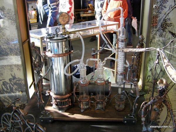 """Стимпанк стенд на """"Олдтаймер-галерее"""" 7-10 октября 2010 (Фото 26)"""