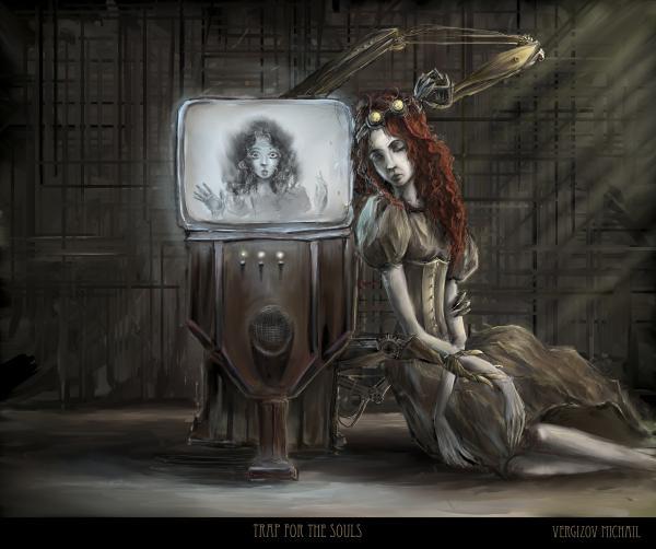 Работа на конкурс Steampunk-Vision 3D в Студию, автор Michail