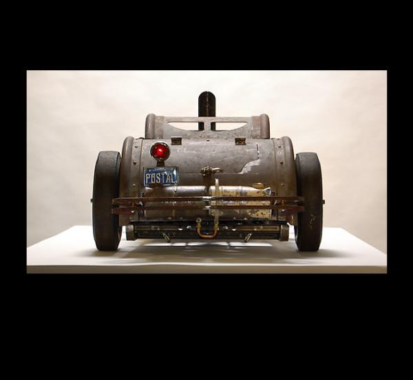 Michael Ulman - арт на колесах. (Дизельпанк) (Фото 3)