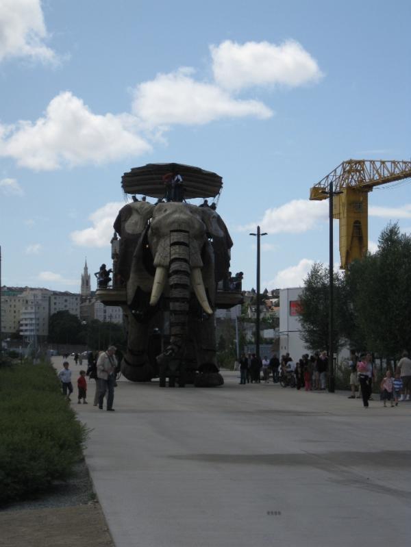 Санкт-Петербург встречает машинистов из Нанта (Фото 7)