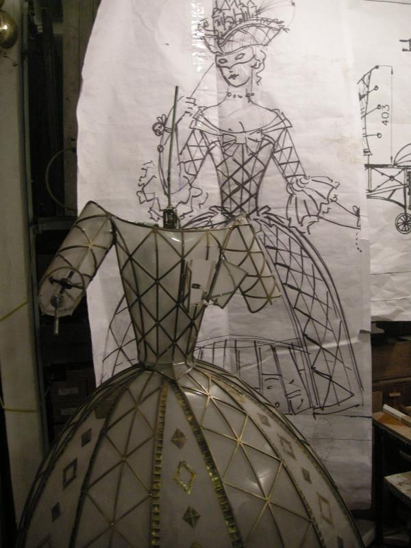 КОЛОМБИНА (арт-механика , история одного проекта) (Фото 11)