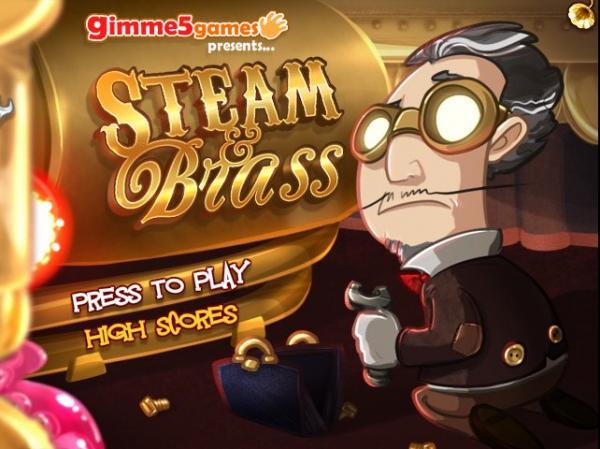 Стимпанк игра - Steam and Brass