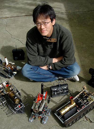 I-Wei Huang и его конструкции.