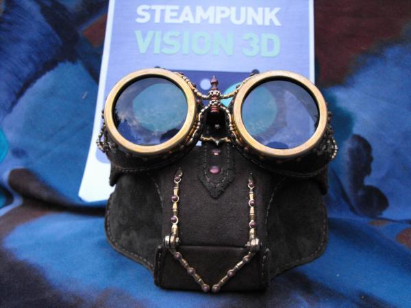 "Футляр под гогглы Монте Кристо для конкурса""STEAMPUNK-VISION 3D"" от NVIDIA   №6 (Фото 26)"