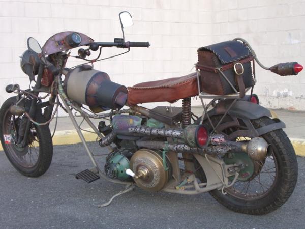 мотоцикл Dave Geertsen (Фото 10)