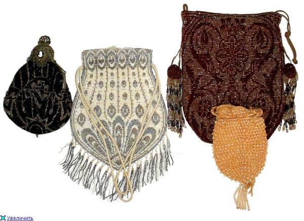 Дамские сумочки в Викторианскую эпоху (Фото 7)