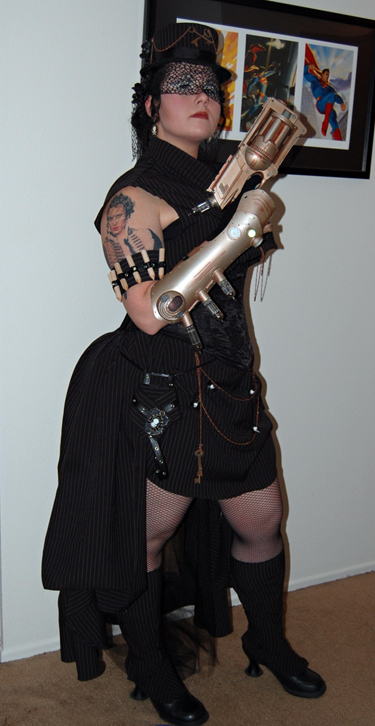 Steampunk Vampire Hunter