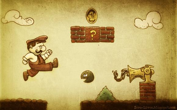 Victorian Mario Brothers