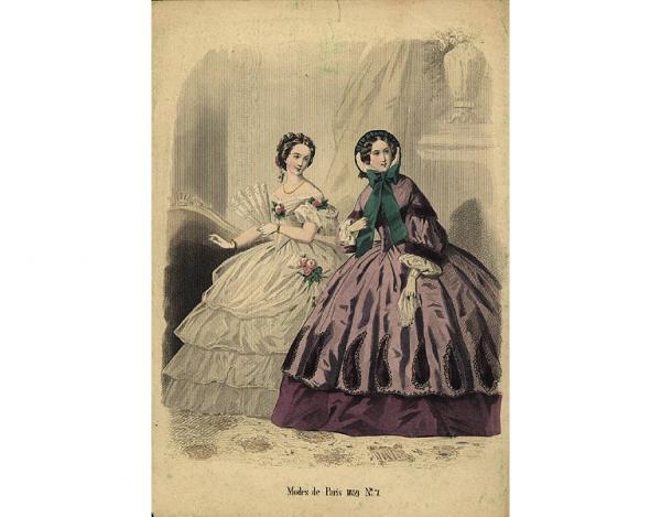 Переменчивая мода Викторианской эпохи (Фото 24)