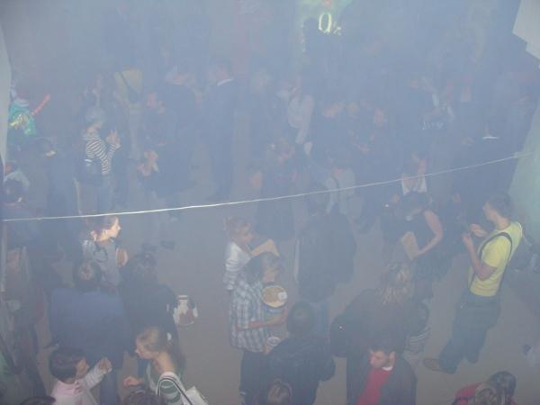 Бой в Крыму, все в дыму и ничего не видно