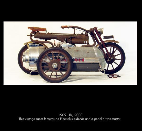 Michael Ulman - арт на колесах. (Дизельпанк) (Фото 10)