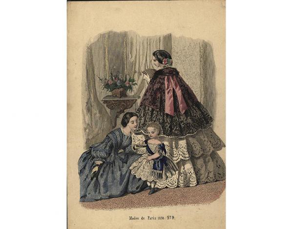 Переменчивая мода Викторианской эпохи (Фото 17)
