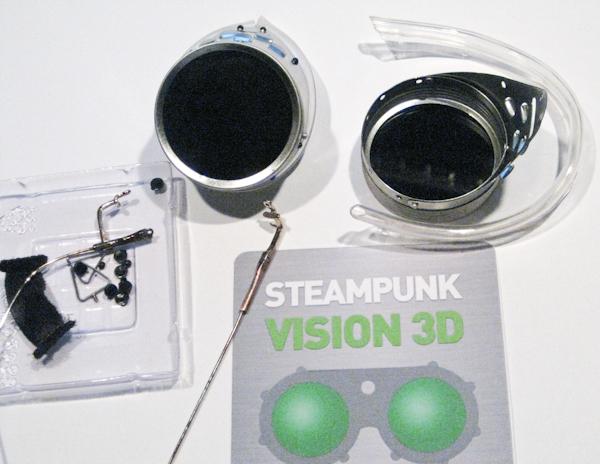 "Очки для конкурса ""STEAMPUNK-VISION 3D"" часть 1 . (Фото 3)"