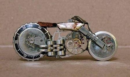 Мотоциклы из часовых механизмов (Фото 12)