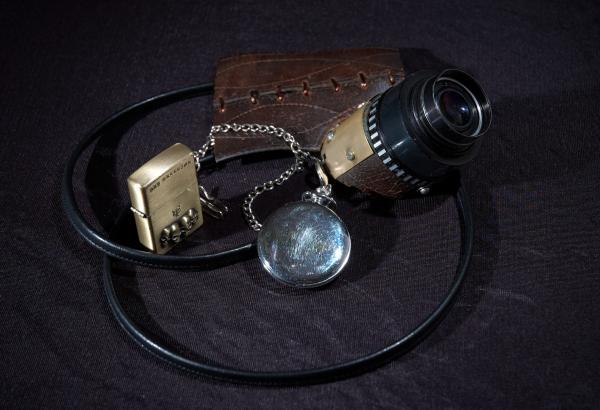 Полумаска, собранная на коленке. (Фото 3)