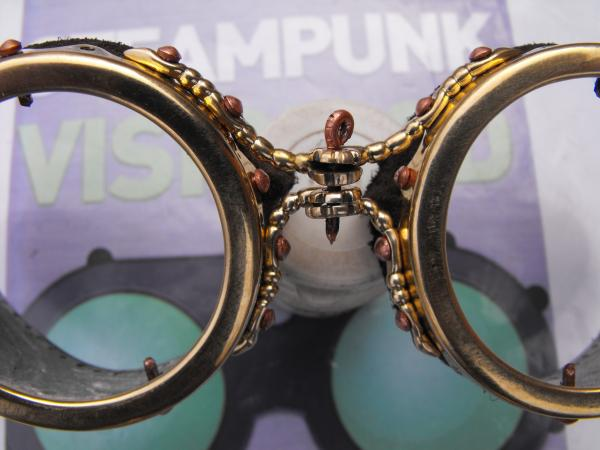 "Гогглы   Монте Кристо  для конкурса  ""STEAMPUNK-VISION 3D"" от NVIDIA .  №3 (Фото 4)"