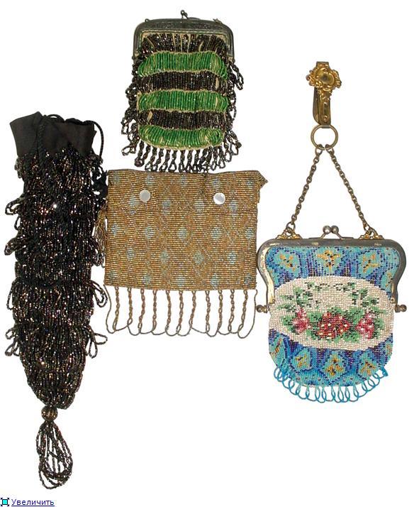 Дамские сумочки в Викторианскую эпоху (Фото 10)