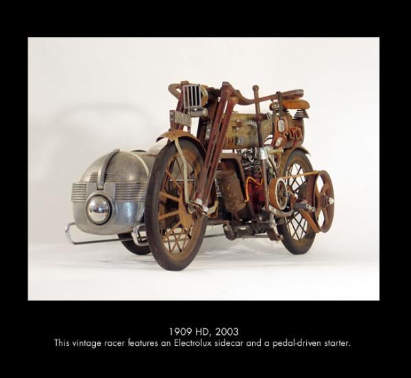 Michael Ulman - арт на колесах. (Дизельпанк) (Фото 11)