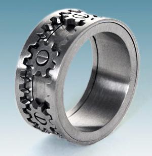 Кольцо на шестеренках