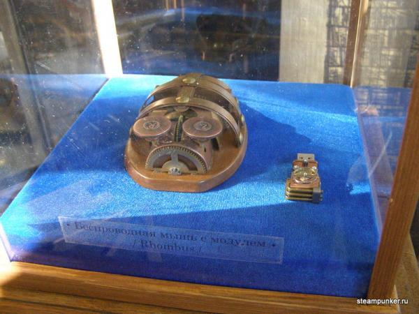 """Стимпанк стенд на """"Олдтаймер-галерее"""" 7-10 октября 2010 (Фото 19)"""