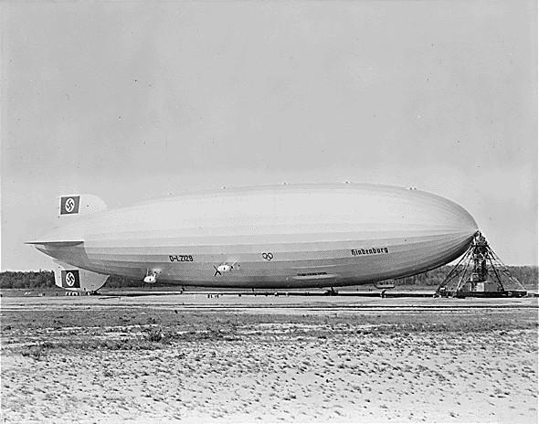 """Бумажная модель дирижабль """"Hindenburg"""" (""""Гинденбург"""") LZ-129 (+статья с """"вики"""") (Фото 2)"""