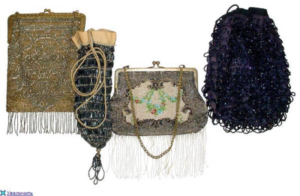 Дамские сумочки в Викторианскую эпоху (Фото 9)