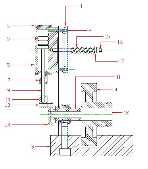3D-модель машины с качающимся цилиндром (Фото 3)