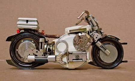 Мотоциклы из часовых механизмов (Фото 3)