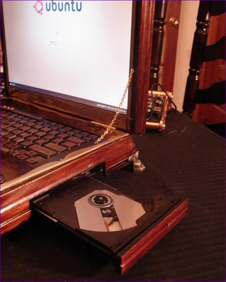 стимпанк ноутбук