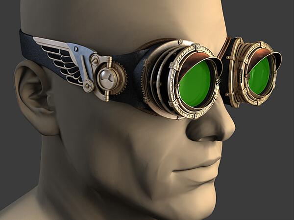 Гогглы в «Студию»... на тему Vision 3D и Bioshock (Фото 4)