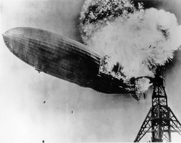 """Бумажная модель дирижабль """"Hindenburg"""" (""""Гинденбург"""") LZ-129 (+статья с """"вики"""") (Фото 3)"""