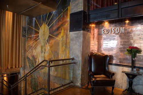 "Бар ""Edison"" в Los Angeles'е."