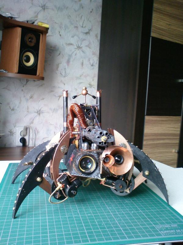 Имперский автономный ударно-разведывательный паровой дрон (Фото 19)