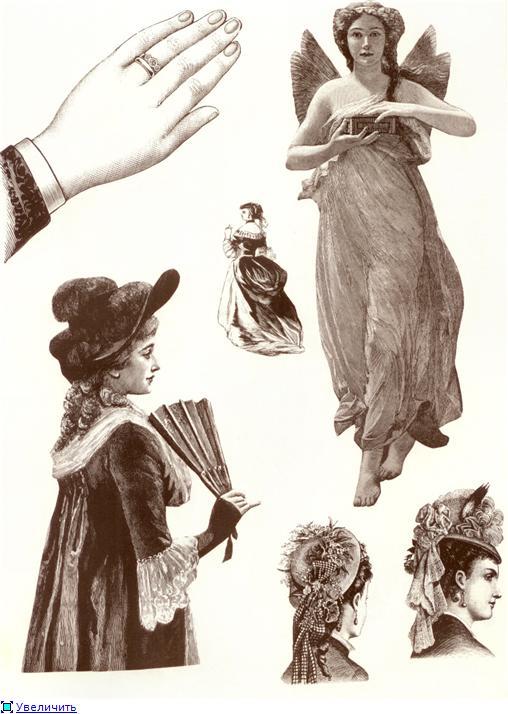 Иллюстрации из викторианских журналов (Фото 10)
