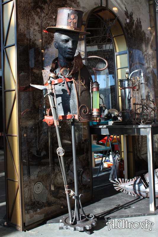 Фотографии со стенда steampunker.ru (Фото 3)