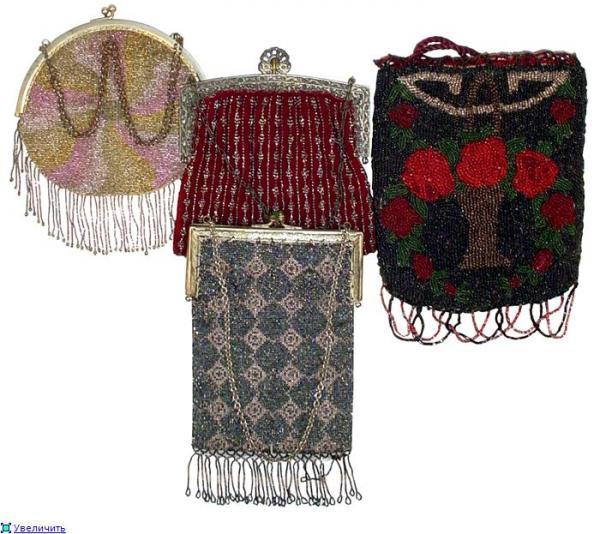 Дамские сумочки в Викторианскую эпоху (Фото 26)