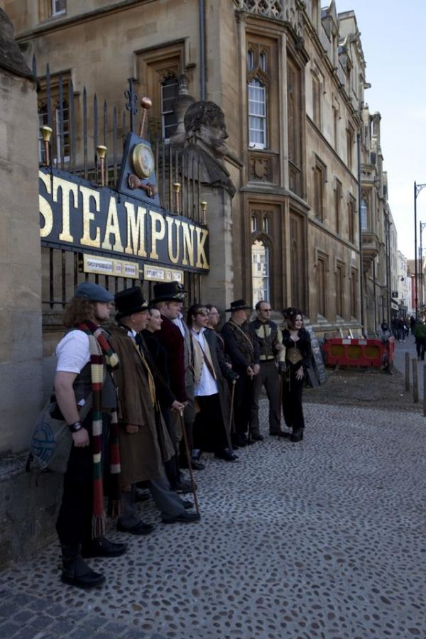 Steampunk Exhibition at Oxford (Фото 7)