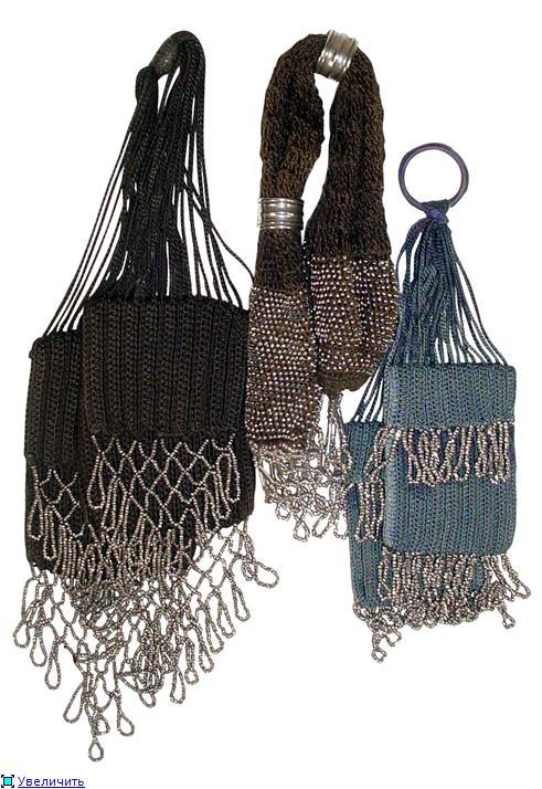 Дамские сумочки в Викторианскую эпоху (Фото 3)