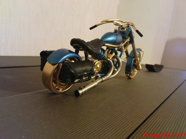 мотоцикл для робота (Фото 2)