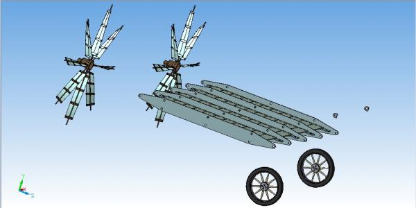 Летучий корабль 2 (3D-модель шаг за шагом) (Фото 21)