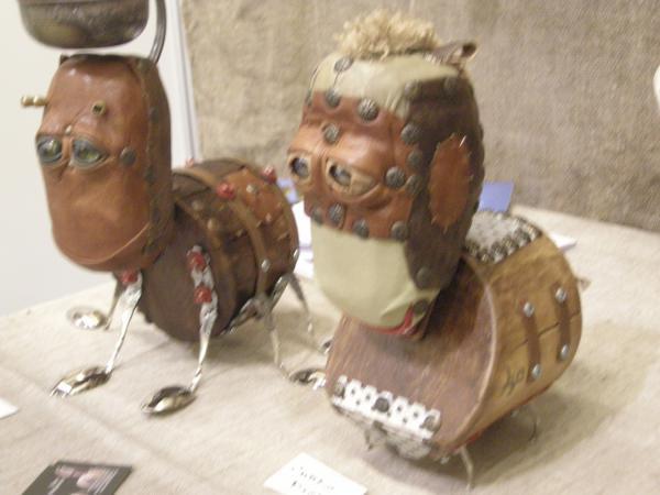 Выставка Авторской Куклы в залах Союза Художников (Петербург) (Фото 6)