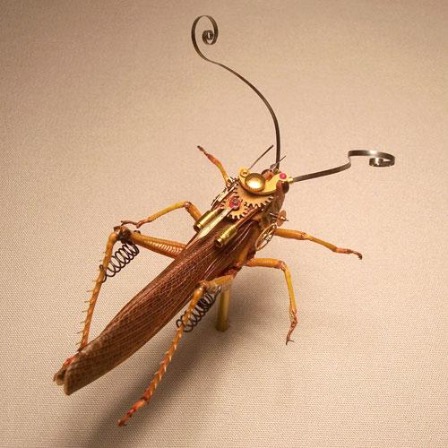 Стимпанк насекомые от Insect Lab (Фото 5)