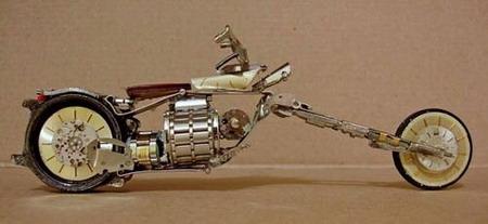 Мотоциклы из часовых механизмов