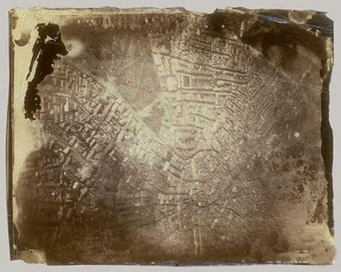 Фото с воздуха. Бостон