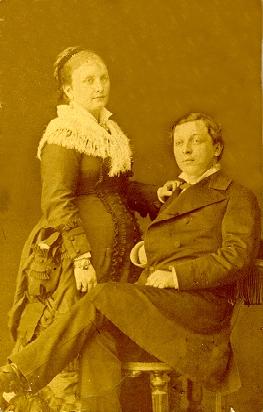 Родители Надежды Коновой. 1880г.
