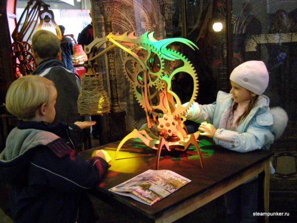 """Стимпанк стенд на """"Олдтаймер-галерее"""" 7-10 октября 2010 (Фото 10)"""
